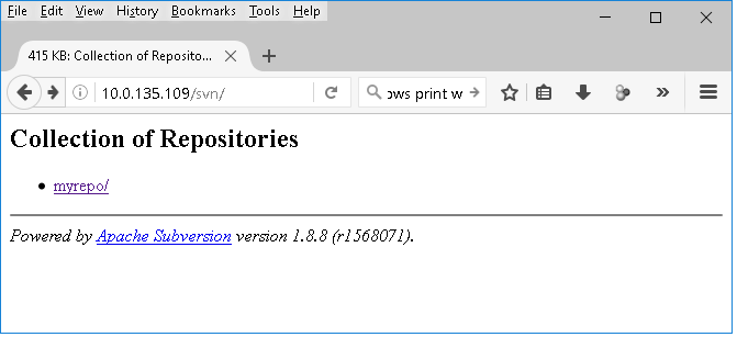how to download svn repository windows